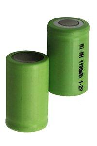 2x 2/3A battery (1100 mAh, Wiederaufladbar)